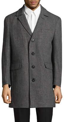Calvin Klein Herringbone Wool-Blend Jacket