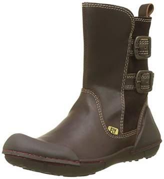 Fly London Girls' Fade K Chukka Boots, (Dk Brown/Expresso 001), (32 EU)