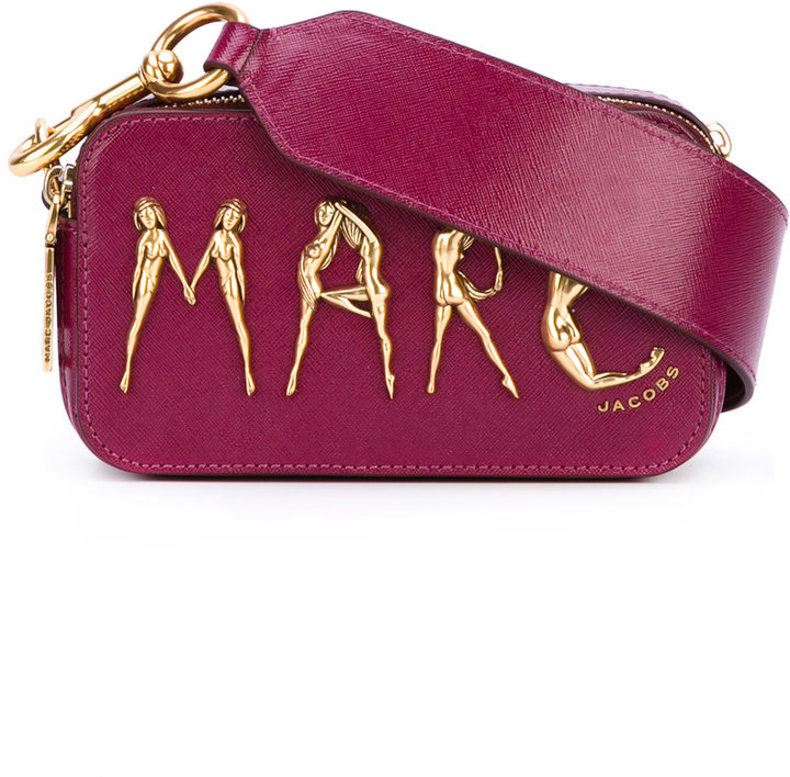Marc Jacobs Marc Jacobs manipulated figure logo bag