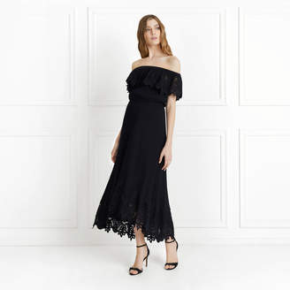 Rachel Zoe Cleo Off-The-Shoulder Cotton Gauze Maxi Dress