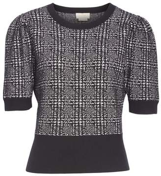 Kate Spade mod plaid sweater