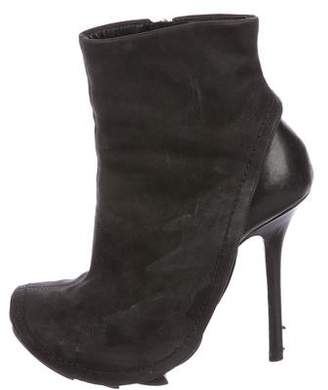 Camilla Skovgaard Leather Round-Toe Ankle Boots