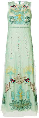 RED Valentino embroidered maxi dress