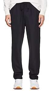 Barena Venezia Men's Plain-Weave Jogger Trousers - Navy