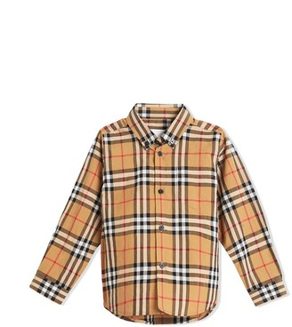 Burberry Button-down Collar Vintage Check Shirt