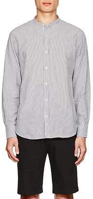 Officine Generale Men's Striped Cotton Seersucker Shirt