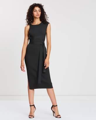 SABA Victoria Tie Knit Dress