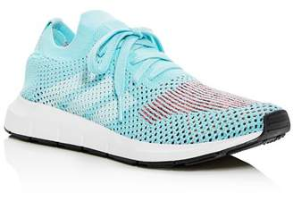 adidas Women's Swift Run Primeknit Lace Up Sneakers