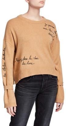 Cinq à Sept Josephine Embroidered Pullover