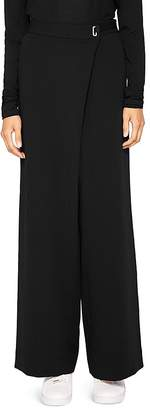 Ted Baker Ted Says Relax Yasin Wide-Leg Wrap-Front Pants