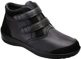 Orthofeet Proven Pain Relief Tivoli Comfortable Flat Feet Plantar Fasciitis Diabetic Orthopedic Women's Velcro Boots