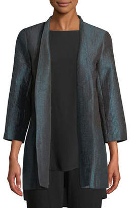 Eileen Fisher Infinity Jacquard Jacket