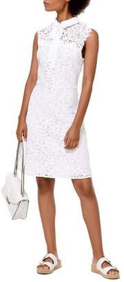 MICHAEL Michael Kors Lace Tie-Neck Dress