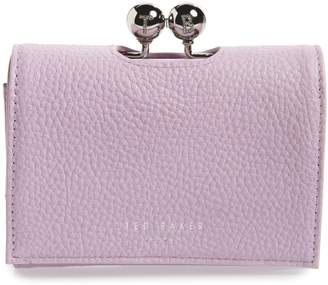 25398d90b729fd Ted Baker Maciey Bobble Mini Matinee Leather Wallet