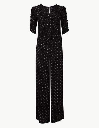 Marks and Spencer Printed Jumpsuit