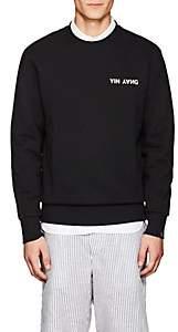 """Rag & Bone Men's """"Yin Yang"""" Cotton Terry Sweatshirt-Black"""