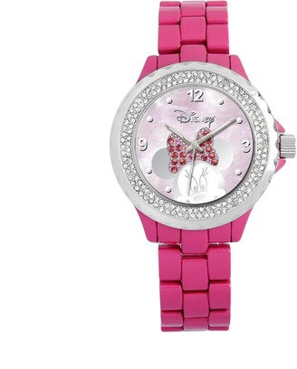 Disney Disney's Minnie Mouse Peekaboo Women's Crystal Watch