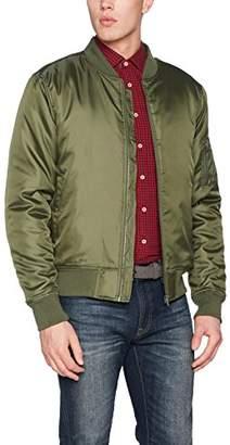 Clique Men's Bomber Jacket (Military Green), X-Small