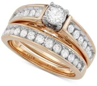 Macy's Diamond Bridal Set (1 ct. t.w.) in 14k Gold