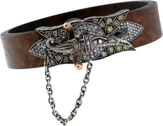 Sevan Biçakci Sword Clasp Leather Bracelet