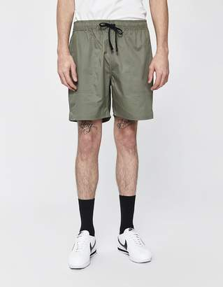 Saturdays NYC Ritchie Cotton Short in Olive