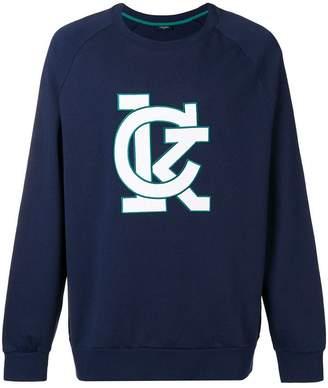CK Calvin Klein Karem raglan sweatshirt