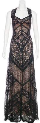 Nicole Miller Lace Evening Dress w/ Tags