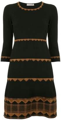 D-Exterior D.Exterior layered dress