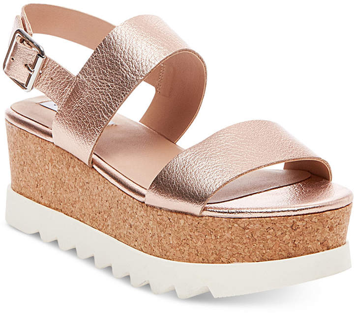 Steve Madden Women's Krista Flatform Sandals