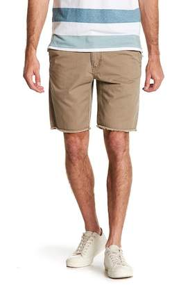 Cambridge Silversmiths UNION DENIM Frayed Hem Chino Shorts