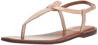 Amazon Brand - 206 Collective Women's Cameron Flat Thong Sandal