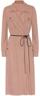 Bottega Veneta Long-sleeved wrap dress