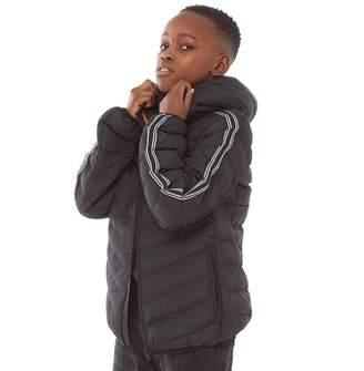 Brave Soul Junior Boys Harrison Puffer Jacket Black