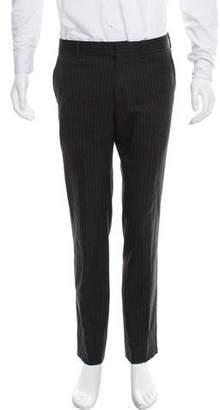 Hermes Striped Wool Pants