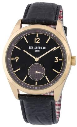 Ben Sherman Men's Carnaby Driver Quartz Watch, 42.5mm