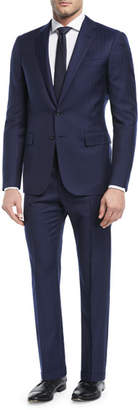 Ralph Lauren Railroad Striped Twill Two-Piece Suit