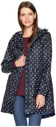 Joules Golightly Waterproof Packaway Printed Jacket Women's Coat