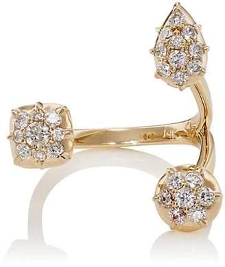Carbon & Hyde Women's Throne Ring - Gold