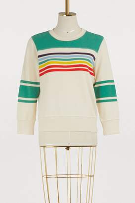 Mother The Matchbox striped sweatshirt