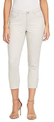 Bandolino Women's Lisbeth Curvy Skinny Crop Jean