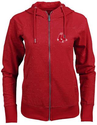 Antigua Women Boston Red Sox Lineup Full-Zip Sweatshirt
