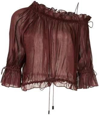 Aje Aldama ruffled blouse