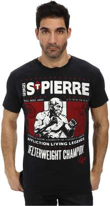 Affliction Mens GSP Legend T-Shirt