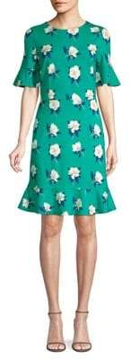 Draper James Magnolia Print Tulip Dress