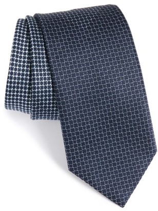 Men's Brioni Geometric Silk Tie $230 thestylecure.com