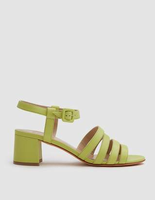 Maryam Nassir Zadeh Palma Low Sandal in Chartreuse