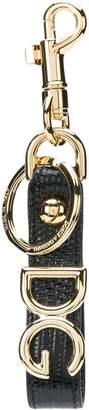 Dolce & Gabbana logo plaque keychain