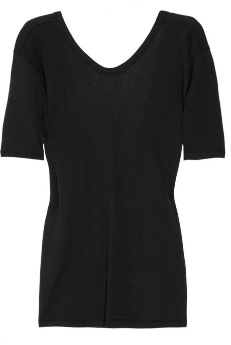 T by Alexander Wang Crossover jersey T-shirt