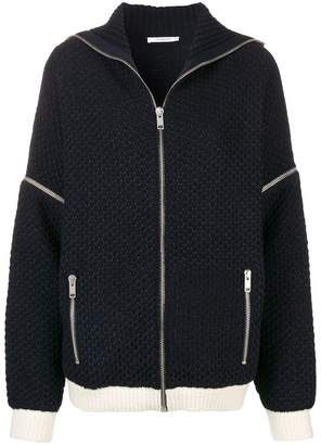 Givenchy zipped cardigan
