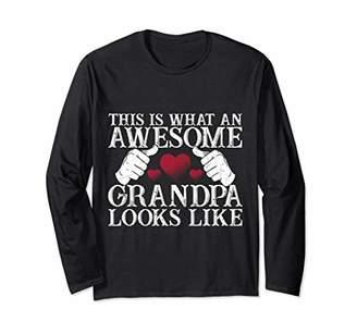 Grandpa's Lovers Long Sleeve ForMen Or Woman Grandfather Tee